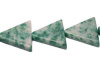 16mm Stone Triangle Beads (24 per strand)