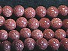 4mm Goldstone (brown) Round Beads (strand)